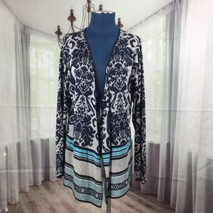 Absolutely Creative Worldwide Knit Duster Cardigan